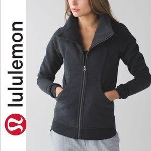 EUC Lululemon Jacket Cozy cuddle up Zip Jacket